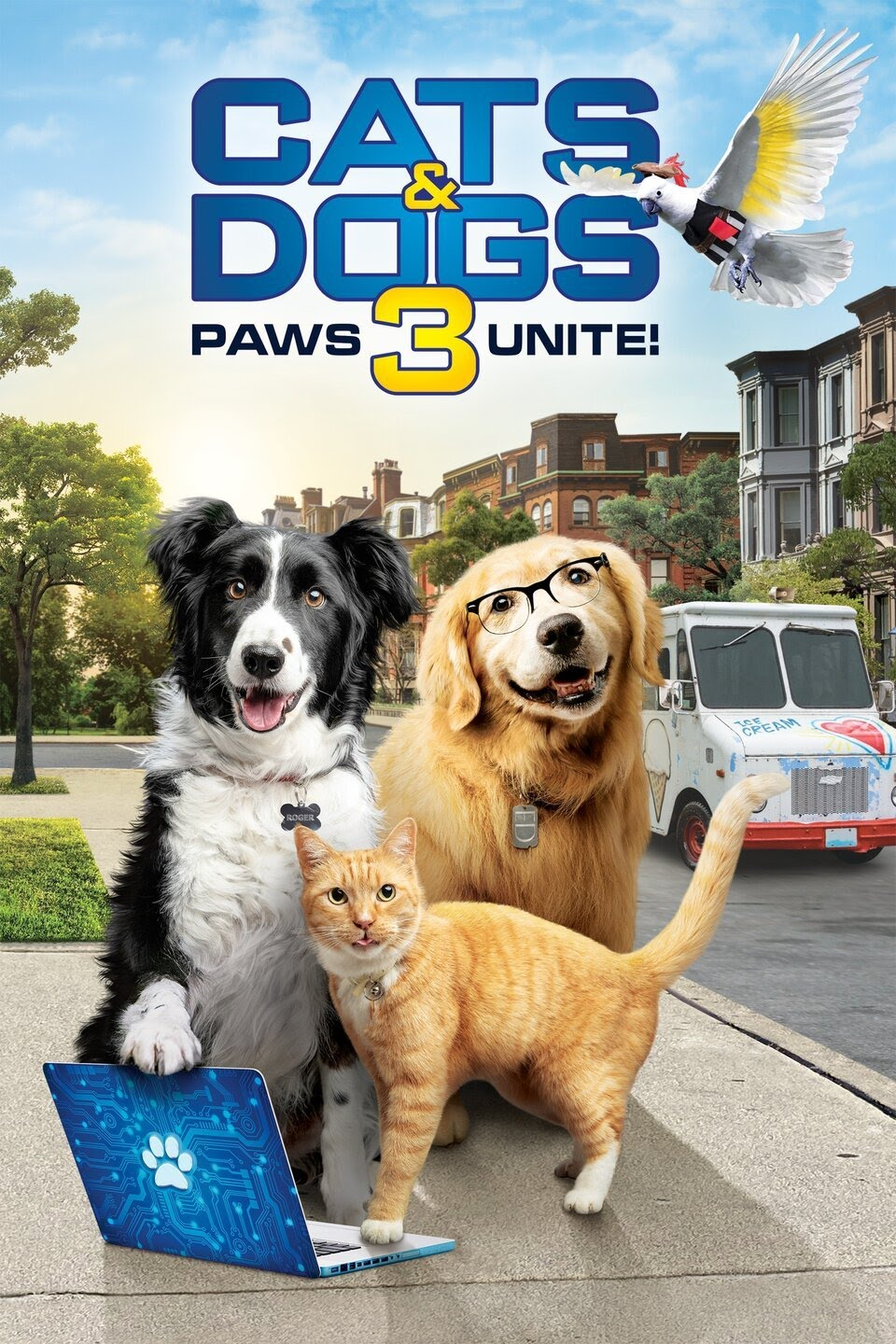 Cats & Dogs 3 Paws Unite 2020 download